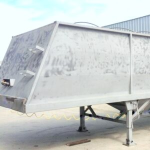 SANDBLASTED HOPPER BOTTOM TRAILER
