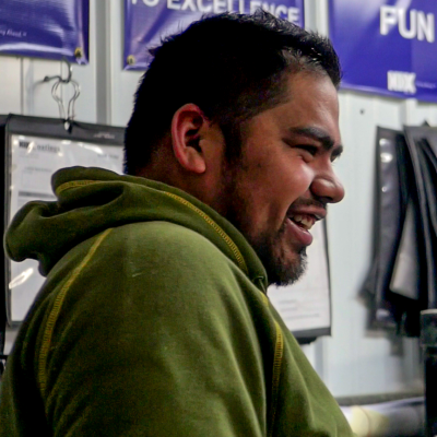 ismael laughing